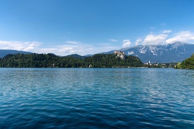 Jezioro bled i zamek bled