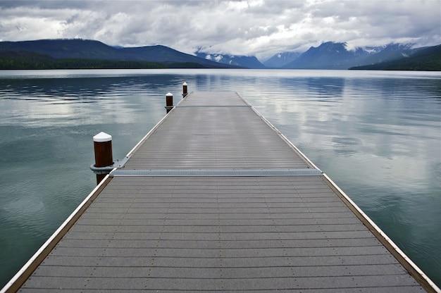Jezioro mcdonald montana