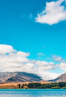 Jezioro tekapo nowa zelandia