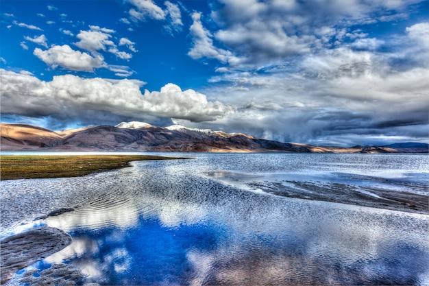 Jezioro tso moriri, ladakh