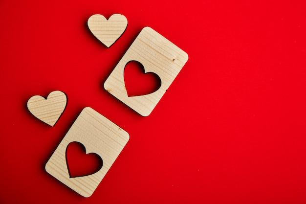 Jigsaw walentynki drewniane serca