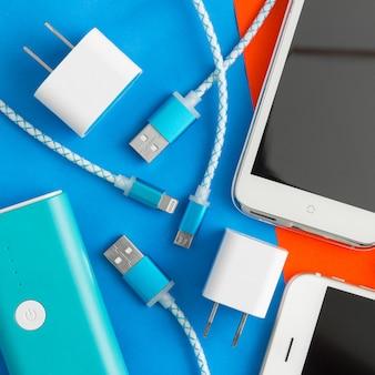 Kable usb do ładowania smartfona i tabletu