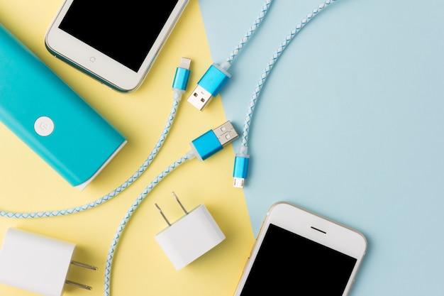 Kable usb do ładowania smartfona