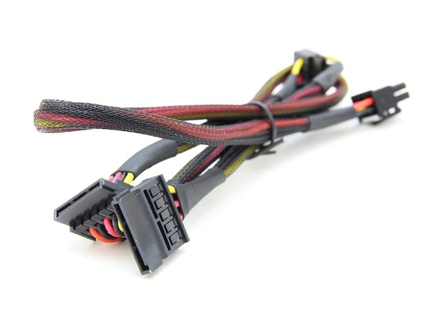 Kable zasilania dysku twardego z kablem elektronicznym