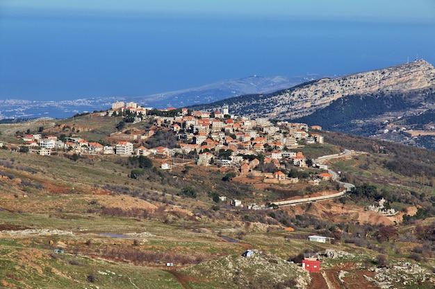 Kadisha valley w górach libanu