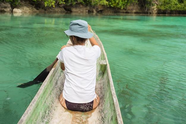 Kajakarstwo wśród wysp togian