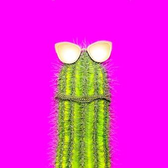 Kaktus hipster zabawny minimal art