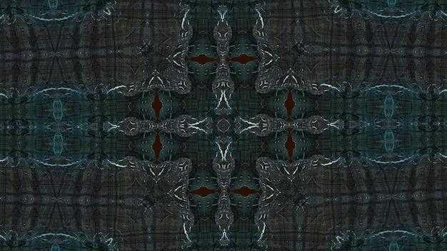 Kalejdoskop groonge w kolorach dark brownish grey i soft blue.