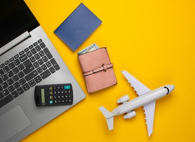 Kalkulacja kosztów wypoczynku lub emigracji