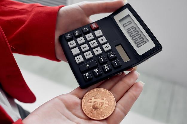 Kalkulator bitcoin kryptowalut obliczający koszt finansowania internetowego