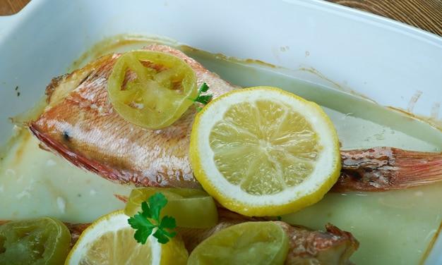Kalluun duban - somalijska ryba pieczona na ostro.kuchnia afrykańska