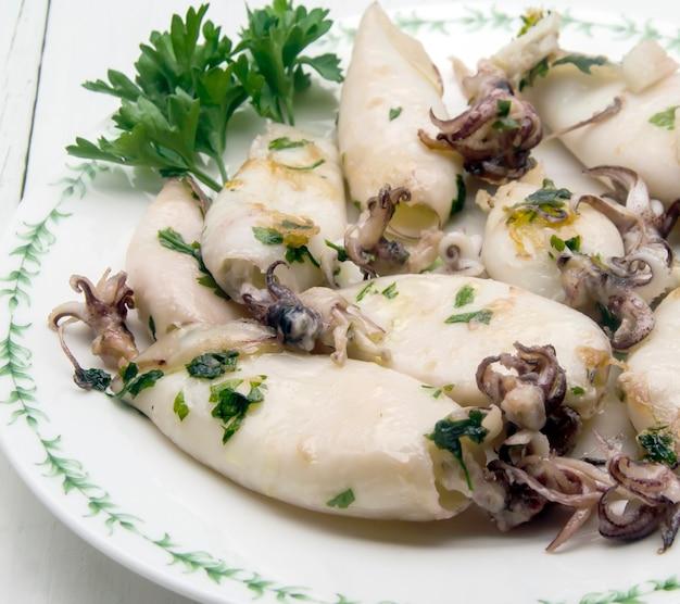 Kalmary z grilla