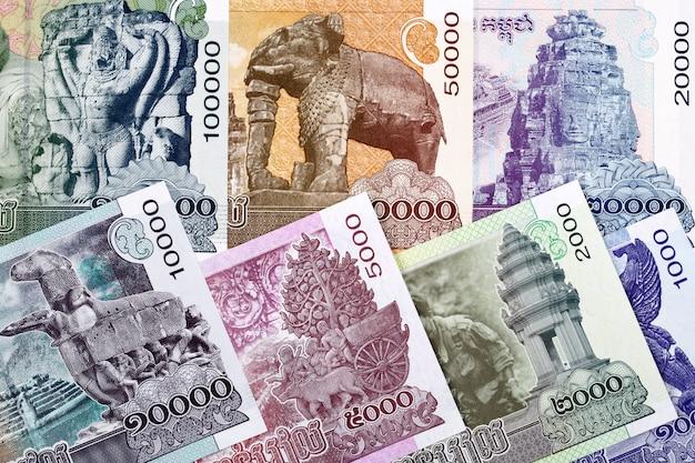 Kambodżańskie pieniądze
