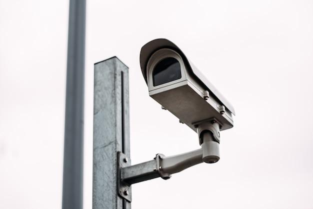 Kamera bezpieczeństwa na ulicy