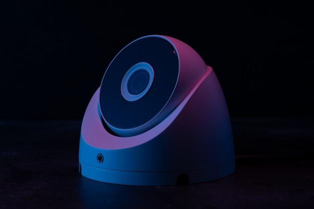 Kamera bezpieczeństwa w ciemności