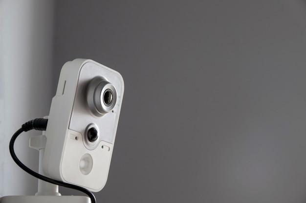 Kamera cctv bezpieczeństwa na suficie