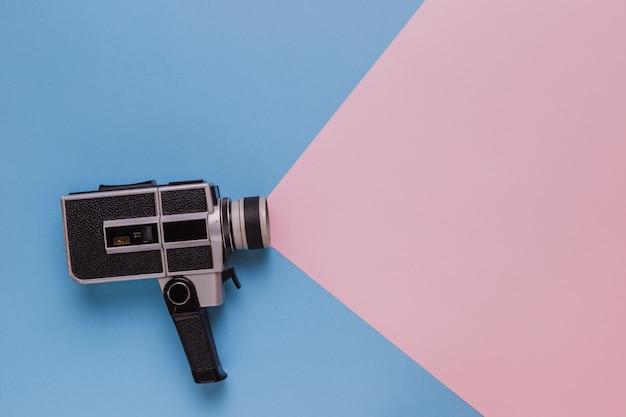 Kamera do kina w stylu vintage