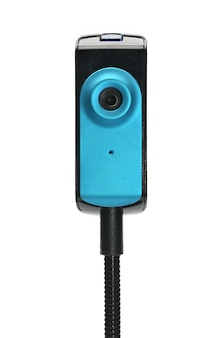 Kamera internetowa zdolna do przechwytywania obrazów do transmisji w czasie rzeczywistym przez internet w czasie rzeczywistym