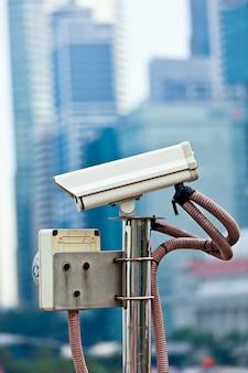 Kamera monitorująca cctv w singapurze