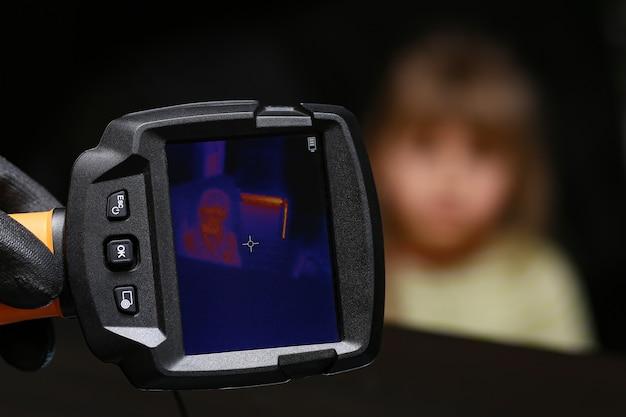 Kamera termowizyjna.