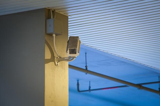 Kamera wideo cctv do lokalizacji na zewnątrz