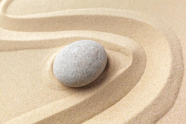 Kamień do medytacji ogrodowej zen