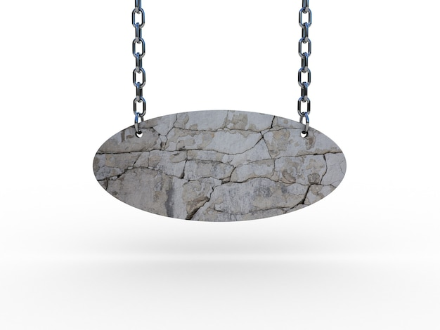 Kamień na łańcuchach