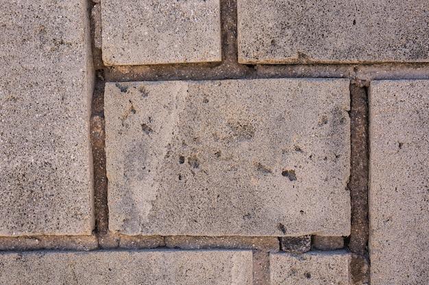 Kamień tekstury tła. ściana wykonana z kamienia.