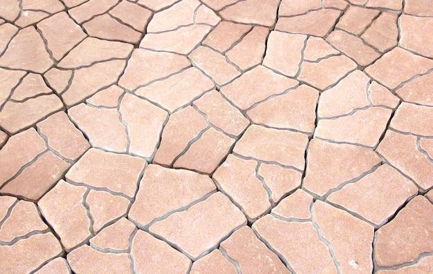 Kamienie brukowej tekstura chodnik