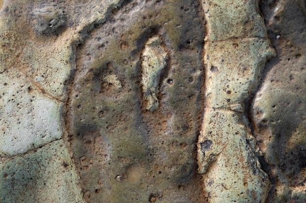 Kamienie tekstury i tła. tekstura skały.
