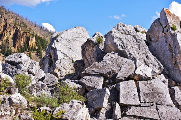 Kamienie yellowstone