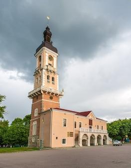 Kamieniec Podolski Ratusz. Ukraina Premium Zdjęcia