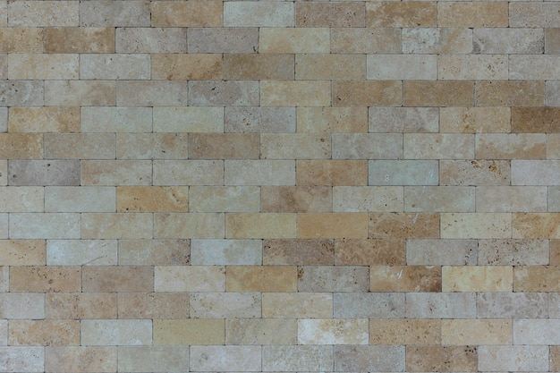 Kamienna prostokątna tekstura ściany z cegły