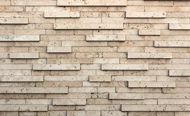 Kamienna ściana lub tło, z naturalnej skały z miękkiej skały, typu osadowego. tekstura szary trawertyn.