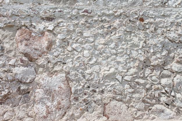 Kamienna ściana tekstur. mozaika skał dekoracyjna ściana