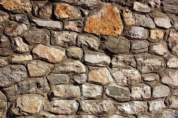 Kamienna ściana tekstur