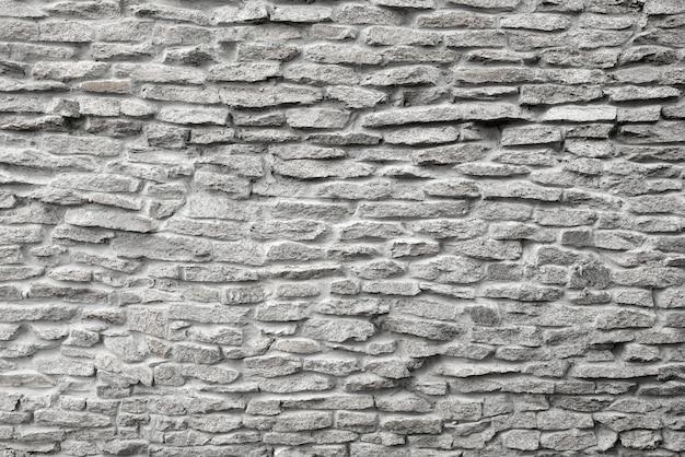 Kamienna szara ściana