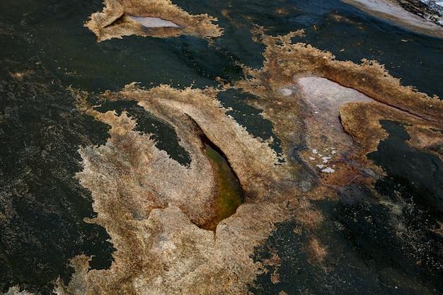 Kamienne tło. tekstura skały z bliska.