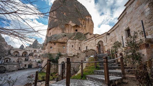 Kamienny dom w kapadocji, göreme, turcja