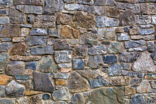 Kamienny mur, tekstura tło.