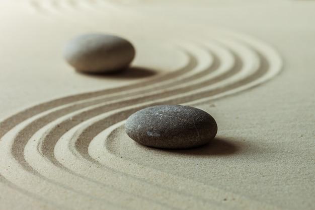 Kamienny ogród zen