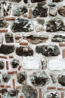 Kamienny stary mur. abstrakcyjne tło