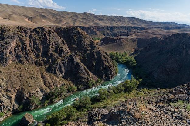 Kanion czaryński w kazachstanie