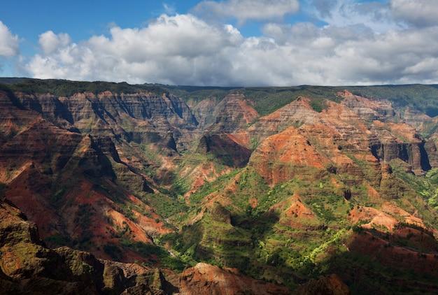 Kanion waimea, kauai, hawaje