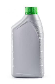 Kanister z maszyna olejem odizolowywającym na bielu