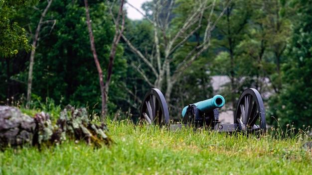 Kanon wojny domowej w gettysburg national military park, gettysburg
