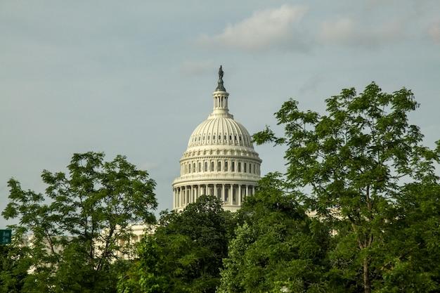 Kapitol stanów zjednoczonych w waszyngtonie, usa. kongres stanów zjednoczonych.