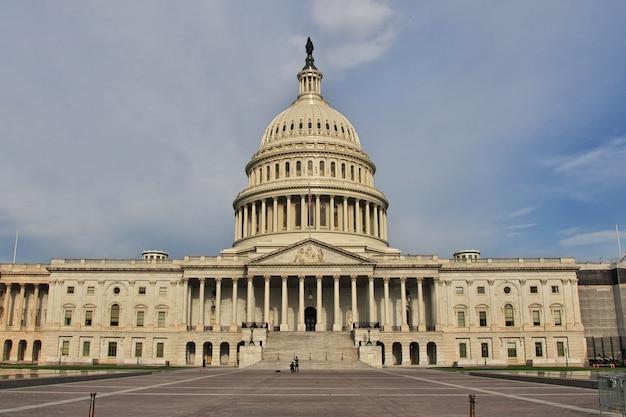 Kapitol w waszyngtonie, stany zjednoczone