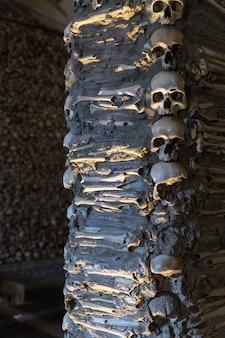 Kaplica kości w evorze. portugalia.