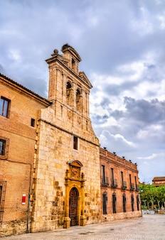 Kaplica san ildefonso w alcala de henares niedaleko madrytu, hiszpania